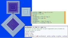 Образец программы, написанной ребёнком и её результат
