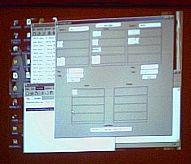 Скриншот работы программы с соревнования